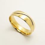 Par de Alianças de Casamento Veneza em Ouro 18k Com Diamantes