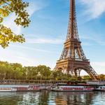 Par de Alianças de Casamento Paris em Ouro 18k