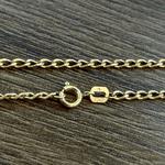 Corrente Masculina Grumet Tipo M em Ouro 18k