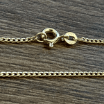 Corrente Masculina Grumet Tipo P em Ouro 18k