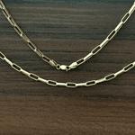 Corrente Masculina Cartier Tipo G em Ouro 18k