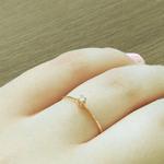 Anel Solitário Paixão em Ouro 18k e Diamante