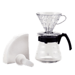 Kit V60 para Café - Craft com 40 filtros