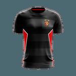 Camisa Torcedor - Sport Preta com detalhes em vermelho