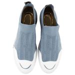 Tênis Fiorella Em Knit Jeans Em Tricô