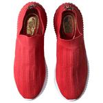 Tênis Lolla Tricô Knit Gorgorão Orcade Vermelho Em Tricô Knit