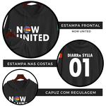 BLUSA MOLETOM NOW UNITED - DIARRA - PRETO