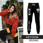 CALÇA MOLETOM NOW UNITED - HEYOON - PRETO