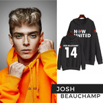 BLUSA MOLETOM NOW UNITED - JOSH - PRETO