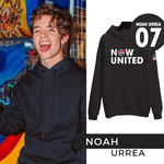 BLUSA MOLETOM NOW UNITED INFANTIL - NOAH - PRETO