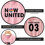 CROPPED NOW UNITED - SABINA - ROSA BEBÊ