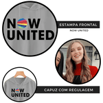 CROPPED NOW UNITED - SAVANNAH - CINZA