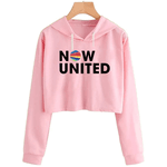 CROPPED NOW UNITED - SHIVANI - ROSA BEBÊ