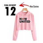 CROPPED NOW UNITED - SINA - ROSA BEBÊ