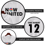 BLUSA MOLETOM NOW UNITED - SINA - BRANCO
