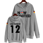 BLUSA MOLETOM NOW UNITED - SINA - CINZA