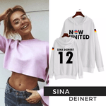 BLUSA MOLETOM INFANTIL NOW UNITED - SINA - BRANCO