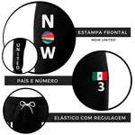 CALÇA MOLETOM NOW UNITED - SABINA- PRETO