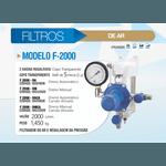Filtro Modelo F-2000