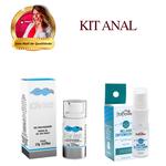 KIT ANAL   Lubrificante a base de Silicone Melhor Intensidade + Dessensibilizante Cliv Intt