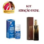 Perfume Masculino + Super Macho Gel / KIT ATRAÇÃO FATAL
