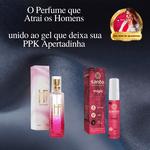 KIT MULHER IRRESISTÍVEL | Perfume Feminino com Pheromonio atraí o Sexo Oposto + Adstringente Magic deixa PPK Apertadinha