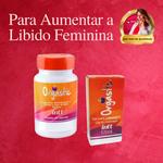 KIT VIAGRA FEMININO | Orgástic Gel Facilita o Orgasmo + Orgástic Cápsulas Aumenta Libido