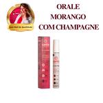 Gel Para Oral Orale Hot Morango com Champagne