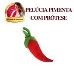 Pimenta Pelúcia com Prótese Inclusa (porta produtos)