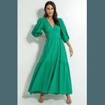 Vestido Laise Longo Verde