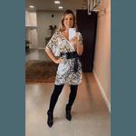 Vestido Ami Onça