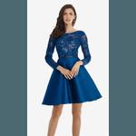 Vestido Curto Little Princess Azul