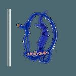 Cabresto de corda com cabo e miçangas - Boots Horse - 01