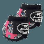 Cloche Boots Horse - Estampa 29 / Velcro preto