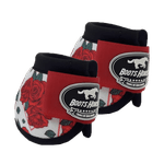 Cloche Boots Horse - Estampa 26 / Velcro vermelho