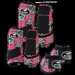 Kit Completo Boots Horse Color Cloche e Boleteira Dianteira e Traseira - Estampa 29 / velcro preto