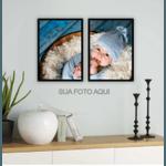 Kit Quadros Decorativos Personalizados Fotos
