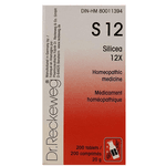 S12 6X Silicea Dr. Reckeweg 200 Tabletes