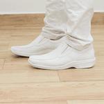 Sapato Branco Vidone Solado Branco