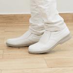 Sapato Branco Masculino Vidone Casual Solado Cinza