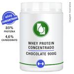 Whey Protein Concentrado 80% Chocolate 900g