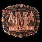 Fivela Country Muladeiro Bronze