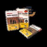 Palheiros Três Irmãos Tradicional - 10 Maços de 10 Cigarros