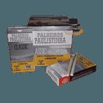 Palheiros Paulistinha Classic com filtro - Display com 10 maços de 20 cigarros