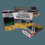 Palheiros Paulistinha Menta COM FILTRO - Display com 10 maços de 20 cigarros