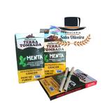 Palheiros Terra Tombada Menta - Display com 10 maços de 10 cigarros