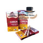 Palheiros Terra Tombada Cereja - Display com 10 maços de 10 cigarros