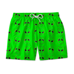 SHORT PRAIA ABDUCTION GREEN