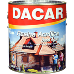RESINA ACRÍLICA BASE ÁGUA INCOLOR 3,6L DACAR