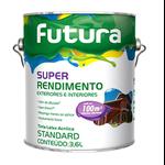 TINTA ACRILICA FOSCO BRANCO NEVE SUPER RENDIMENTO 3,6L FUTURA